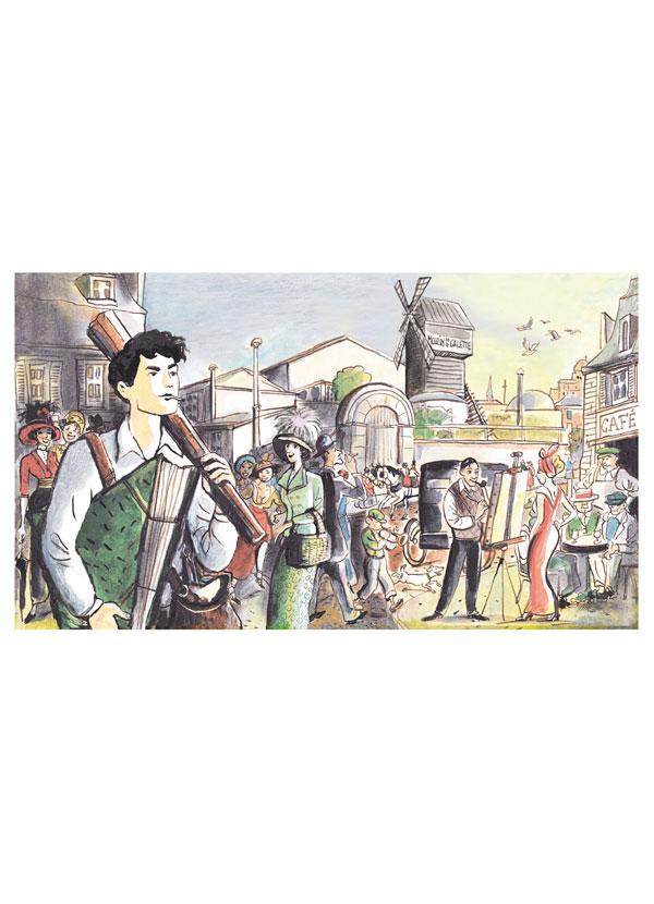 Modigliani, magazine DADA (mars2016)